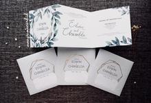 Wedding Invitation of Edwin & Chriselda by Prima Card