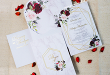 Wedding Invitation of Denny & Thalya by Prima Card