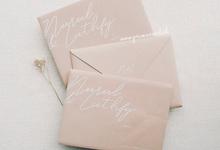 Wedding Invitation of Nurul & Luthfy by Prima Card