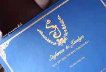 Wedding Invitation of Stefanus & Jesslyn by Prima Card