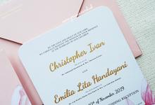Wedding Invitation of Ivan & Lita by Prima Card