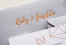 Wedding Invitation of Ricky & Griselda by Prima Card