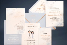 Wedding Invitation of Glen & Margaretha by Prima Card