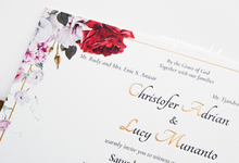 Wedding Invitation of Christofer & Lucy by Prima Card