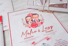 Wedding Invitation of Melco & Lusy by Prima Card