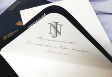 Wedding Invitation of Nicolas & Joanne by Prima Card