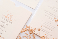Wedding Invitation of Elviliana & Tony by Prima Card
