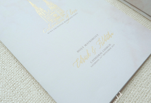 Wedding Invitation of Edrick & Alditha by Prima Card
