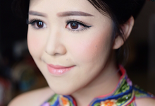 Engagement Makeup for Sherly by Priskila Makeup Artist