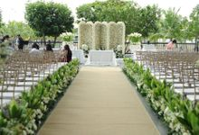 Pearl Wedding by Josiah's Catering