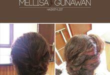 Wedding Hair Do (Bride and Mom) by mellisagunawanhairstylist