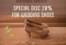 10th anniversary Biondi by Wedding shoes by Biondi