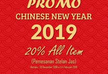 Promo Chinese New Year 2019 by Ventlee Groom Centre