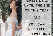 Promosi Free Gaun Prewedding! by ODDY PRANATHA BRIDAL
