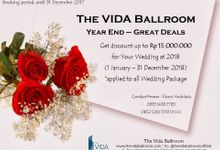 Year End - Great Deals by The Vida Ballroom
