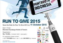 Run To Give 2015 By Starwood cares by PRINTBOOTH INDONESIA
