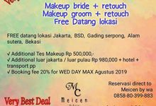 PROMO MAKE UP DAN PREWEDDING by Meicen Professional Makeup Artist