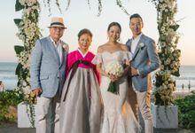 Nick & Inhee W Bali Resort Wedding by Lentera Production