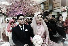 The Wedding Of Nabila & Muadz by Dirasari Catering