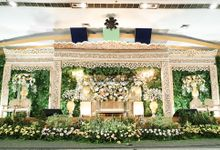 The Wedding Of Rezky & Rizal by Dirasari Catering