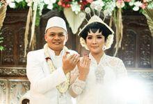 The Wedding Of Dian & Aji by Dirasari Catering