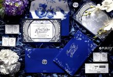 'Signature Blue Chinoiserie' Invitation by PurityCard