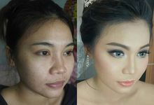 CHERIS' FACES Before-after by CHERIS'H makeup artist