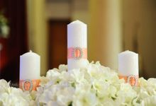 IRRESISTIBLE Holy Matrimony Decoration by BLUBELLS Flower