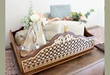 Pucuk Rebung Tray by Sekar Satari