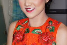Party makeup by Purpleblend Makeup