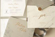 Putera & Aita by Meltiq Invitation