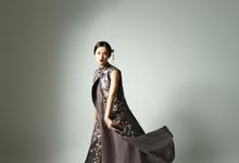 梦蝶 (mèng dié) Dream to be a butterfly by Putri Cindana Couture