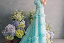 FLORIATE dress by Putri Cindana Couture