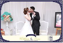 The Wedding Of William & Joan by Indigo Photobooth