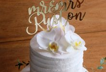 The Wedding of William & Grace by KAIA Cakes & Co.