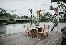 The Wedding of Danang & Mita by Pinewoodstory
