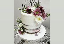 Wedding Tiered Cake by Timie Cakes