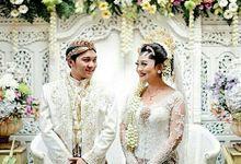 The Wedding Of Okta & Rio by KANAYA Kebaya & Bridal