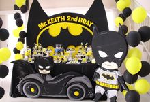 Keith Birthday ( BATMAN ) by Flos Decoration
