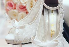 Transparent Wedding Shoes by Nefrin Fadlan for brideseries wedding shoes