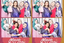 Photobooth for Mesra Aidil Fitri Tan Sri Mohd Saleh Sulong & Puan Sri Dato Akmal by Theseplay Photo Booth