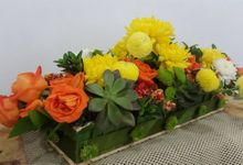 Flower Arrangement by Amaryllis Floral Art