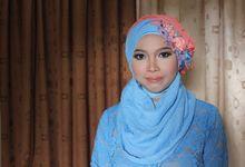 Calm Blue by Makeup by Ziamafada