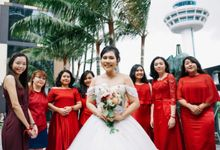 Indonesian Isabella Wedding day by Stephy Ng Makeup and Hair