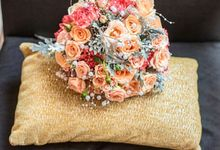 Wedding Bouquet For Arnold And ivana by Casa d'Fleur