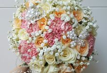 Wedding Bouquet by Belfiore Florist