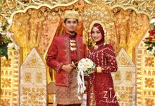 Ika & Iqbal Wedding by Zia Brides Make Up Artist & Kebaya
