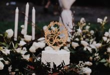 Alfred & Mega Wedding by KAIA Cakes & Co.