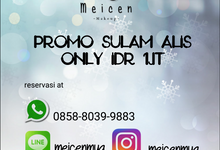 Promo Sulam Alis by Meicen Professional Makeup Artist