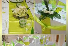 Green Wedd by Kamy Wedding